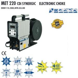 MET 220 CDi  SYNERGIC ELECTRONIC CHOKE